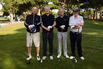 Maxitours Vila Sol 2018 Team members: Ashley Elliott, Ian King, Peter Robinson and Bob Eastwood