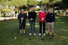 Maxitours Vila Sol 2018 Team members: David Runciman, Andrew Wallace, Alan Smith and Alan Frazer