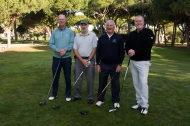 Maxitours Vila Sol 2018 Team members: Ian Gemmill, Joe Kirwan, Peter McCulloch and Gareth Bradley