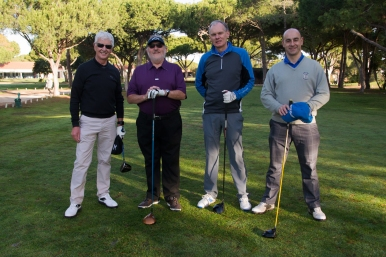 Maxitours Vila Sol 2018 Team members: Ron Sloane, Colin Roberts, Koos Alders and Marc Morris